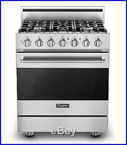 Viking 3 Series 36in Refrigerator, 30in Gas Range, Hood Microwave, Dishwasher