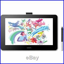 Wacom Wacom One Digital Drawing Tablet with Screen, 13.3 Graphics Display for Art