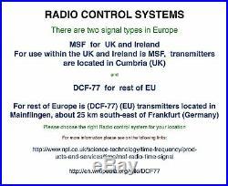 Weather station with MSF Radio Control Clock (UK version) Indoor / Outdoor